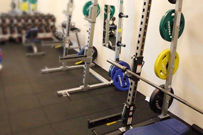 Nytt golv i Gym 3!